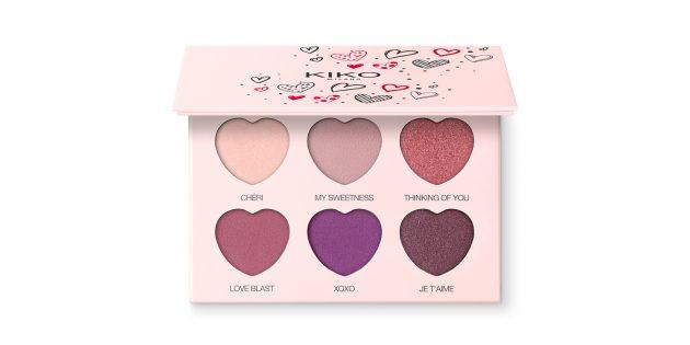 Sweetheart Eyeshadow Palette от Kiko Milano