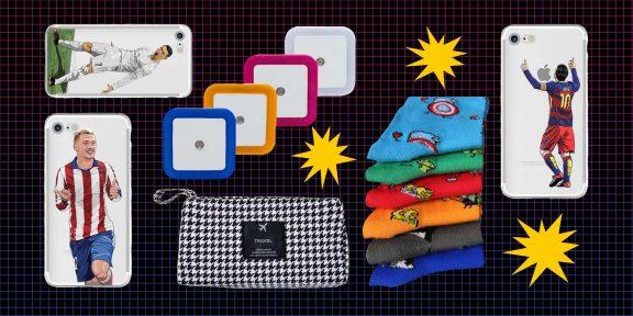 Находки AliExpress дешевле 300 рублей: магнитный браслет, светодиодный ночник и кошелёк для карт