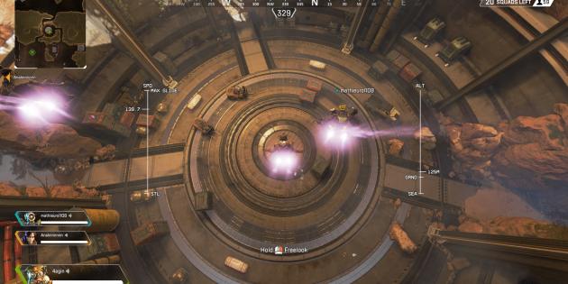 Как победить в Apex Legends: приземляйтесь чуть поодаль от остальных членов отряда