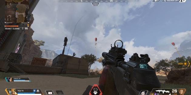 Как победить в Apex Legends: используйте красные воздушные шары для быстрого передвижения по карте