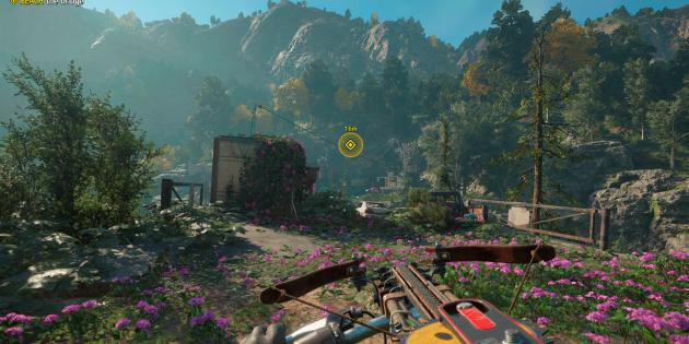 Far Cry New Dawn: поиск ресурсов на карте