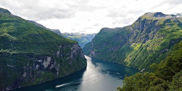Куда поехать в Европе: Гейрангер-фьорд, Норвегия