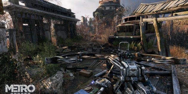Прохождение Metro Exodus: По возможности избегайте мутантов (особенно если их много)