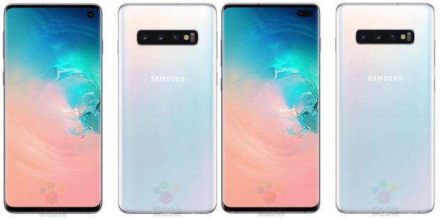 Samsung Galaxy S10 и Galaxy S10Plus: селфи-камеры, встроенные прямо в дисплей