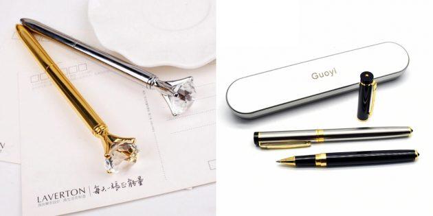 Что подарить коллеге на 8 марта: ручка
