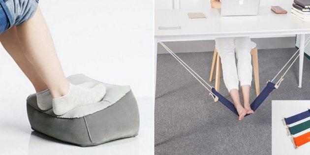 Что подарить коллеге на 8 марта: подставка для ног