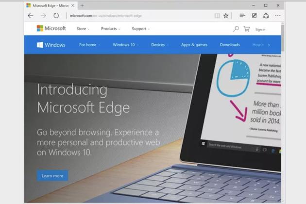 Альтернатива любой версии Google Chrome: Microsoft Edge