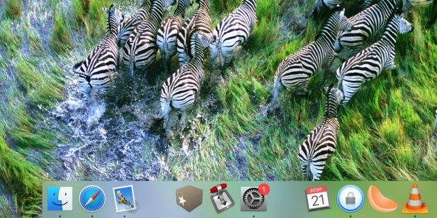 Как добавить разделители в док-панель macOS: вам может показаться, что разделитель слишком большой