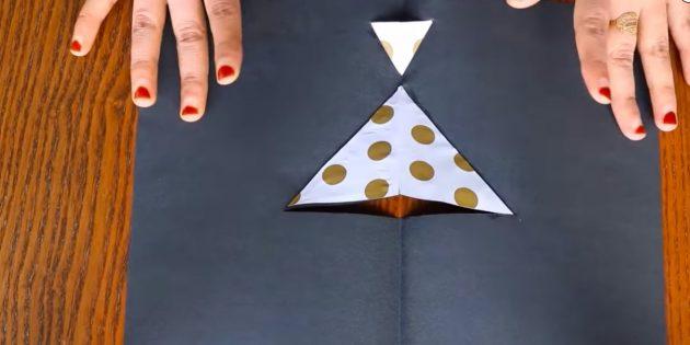 Как сделать открытки на 8 Марта своими руками: приклейте цветную бумагу