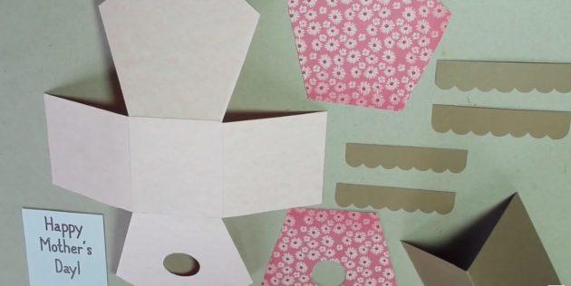 Как сделать скворечник из картона своими руками: Раскроите и пройдитесь ножницами по пунктирным линиям, не прорезая до конца
