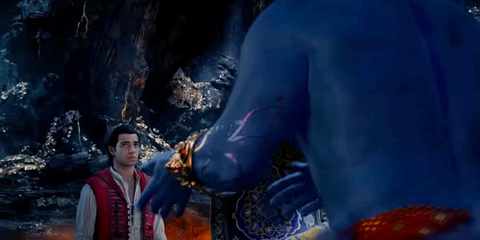 В новом трейлере «Аладдина» наконец показали Джинна