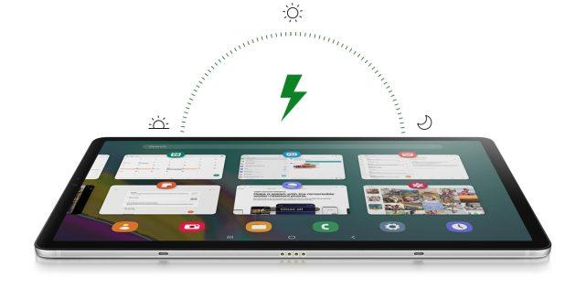 Galaxy Tab S5e: Автономность