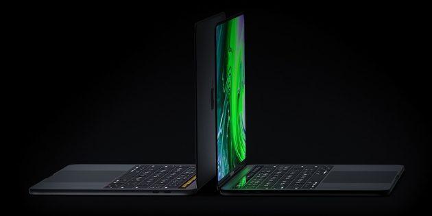 Как изменятся характеристики MacBook Pro в новой версии: концептуальное промо от дизайнера-энтузиастаВиктора Кадара