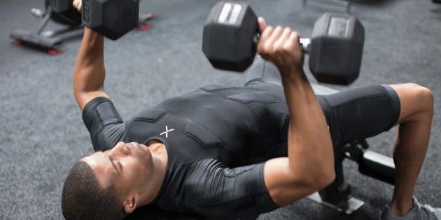 Balanx: Упражнение с гантелями