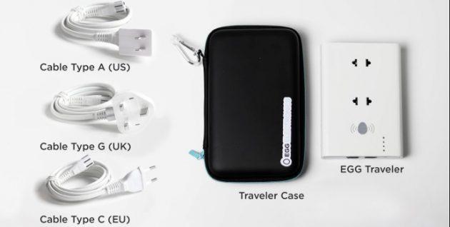 EGG Traveler: переходник для вилок разных типов