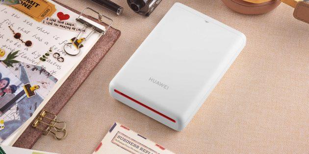Huawei представила карманный бесчернильный принтер для печати фото со смартфона