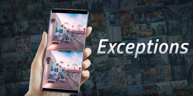Exceptions — возможно, лучшая мобильная игра в жанре «найди отличия»