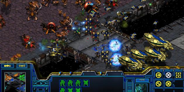 Старые игры на ПК: StarCraft