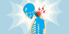 17 упражнений, которые помогут избавиться от боли в шее и плечах