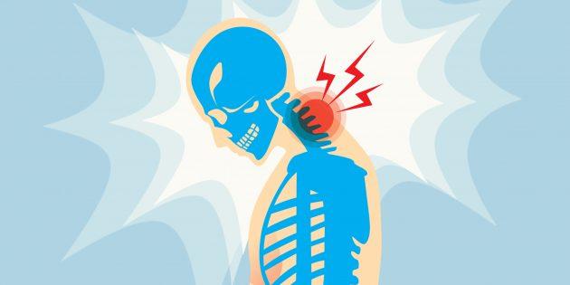 Упражнения от боли в шее и плечах