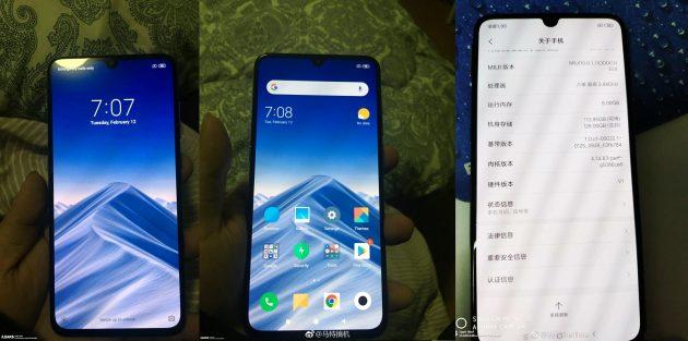 Характеристики Xiaomi Mi 9: дисплей с узкими рамками и каплевидным вырезом сверху