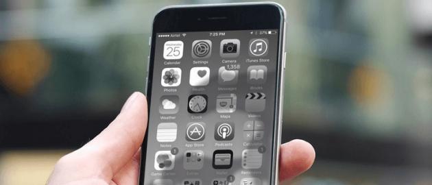 Как сделать экран iPhone чёрно-белым и почему вам это нужно