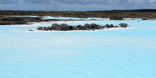 Куда поехать в Европе: Курорт Голубая лагуна, Исландия
