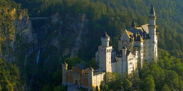 Куда поехать в Европе: Замок Нойшванштайн, Германия