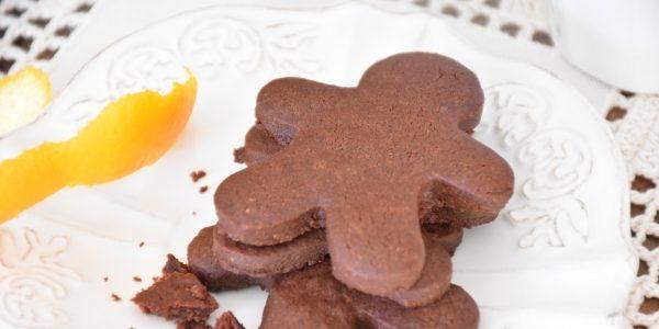 Шоколадное печенье с апельсиновой цедрой