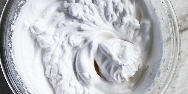 Аквафаба в кулинарии: крем для торта