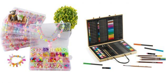 Что подарить девочке на 8Марта: набор для творчества