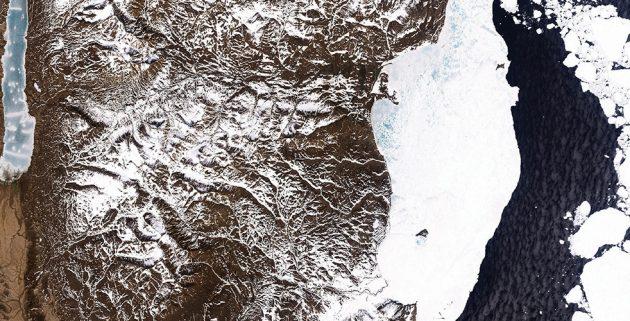 Фотографии Земли из космоса: Гренландия