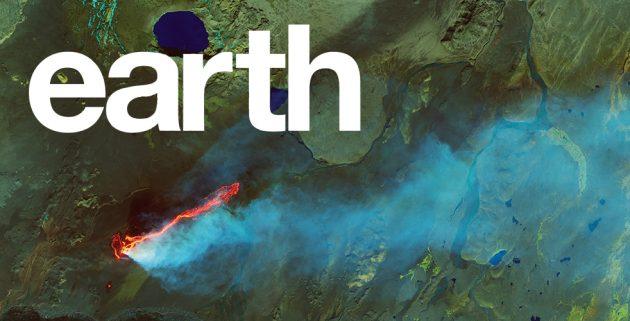 NASA выпустила книгу со спутниковыми фотографиями Земли