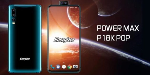 Новый смартфон Energizer: Power Max P18K Pop