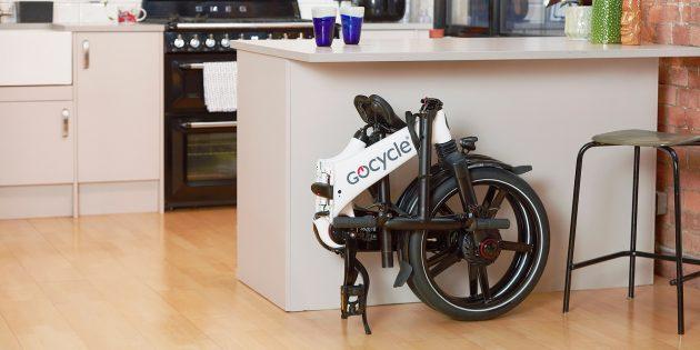 Складной электровелосипед Gocycle GX не займёт много места