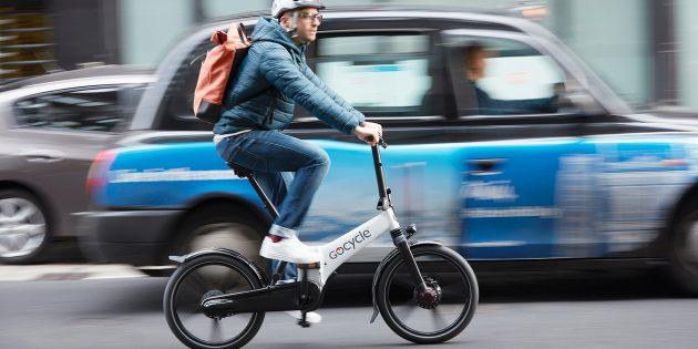 Складной электровелосипед Gocycle GX: батареи хватит на 64км пути
