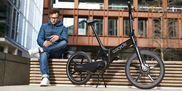 Складной электровелосипед Gocycle GX: полная зарядка за 7часов
