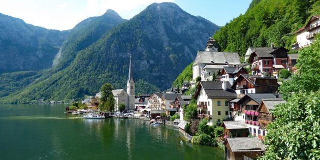 Куда поехать в Европе: Деревня Хальштатт, Австрия