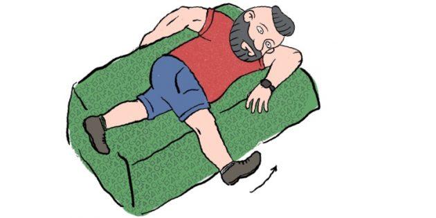 Как избавиться от боли в мышцах: расслабление поясницы лёжа