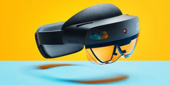 Microsoft представила очки дополненной реальности HoloLens 2