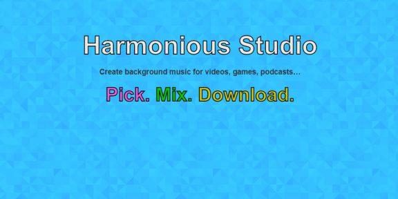 Harmonious Studio бесплатно поможет сделать музыку для подкастов, игр или видеороликов