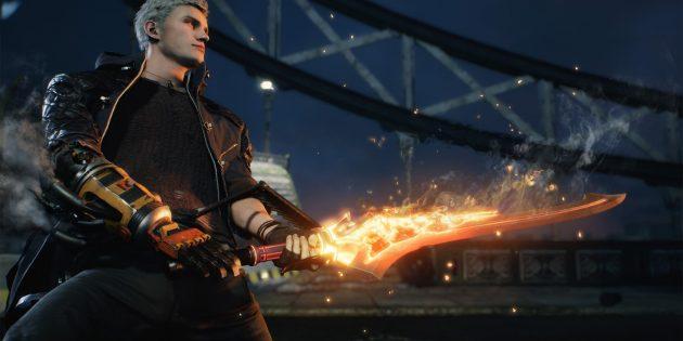 Devil May Cry 5: вместо демонической руки Данте — сменные протезы
