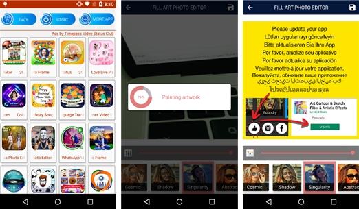 Проверьте установленные приложения Google Play