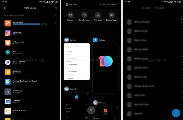 ВMIUI 10Global Beta темнеют все системные приложения