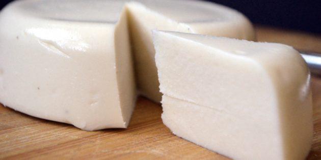 Аквафаба в кулинарии: моцарелла