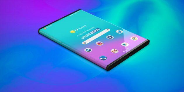 Гибкий смартфон Xiaomi: неофициальные рендеры от сторонних дизайнеров