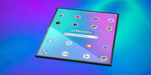 Гибкий смартфон Xiaomi: визуализация от сторонних дизайнеров