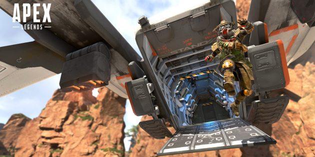 Apex Legends: Сцена из игры