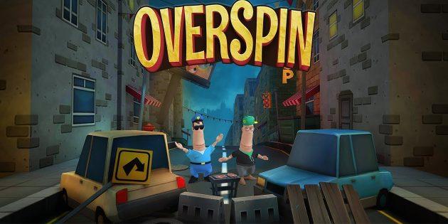 Overspin — по-настоящему сложный раннер для Android и iOS