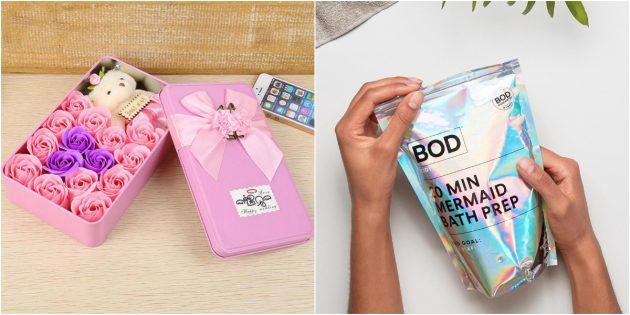 Подарки девочкам на 8Марта: косметика